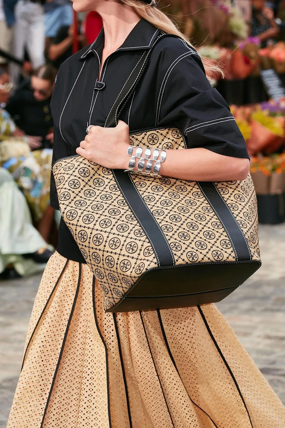 <p>A bag from Tory Burch spring 2022 collection.</p>