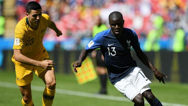 N'Golo Kante was singled out for praise by former Arsenal boss Arsene Wenger after his starring performance at the World Cup in Russia.