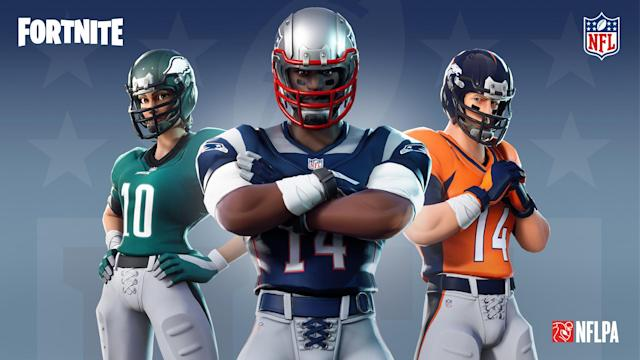 "You can now create some of your favorite NFL players in ""Fortnite."" You can also create some of the NFL's least favorite players. (NFL)"