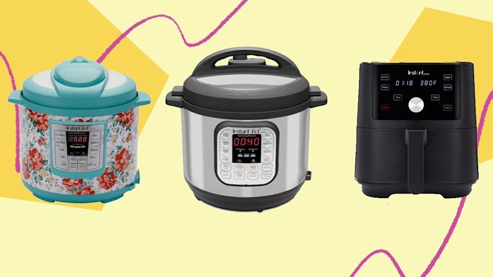 Various sizes of Instant Pots are on sale at Amazon, Target and Walmart this Prime Day. Here's how to find the right one for your family. (Photo: HuffPost Finds)
