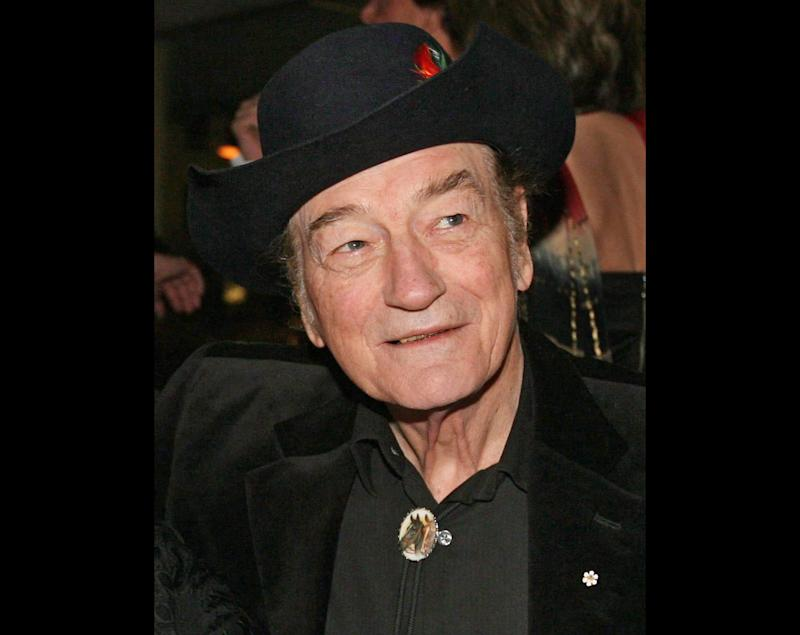 FILE - In this Nov. 23, 2009 file photo, Canadian music legend Stompin' Tom Connors prior to the 20th Annual SOCAN Awards gala in Toronto. Canadian country-folk singer Stompin' Tom Connors, whose toe-tapping musical spirit and fierce patriotism established him as one of Canada's biggest cultural icons, has died, his promoter said Wednesday night, March 6, 2013. He was 77. (AP Photo/The Canadian Press,  Darren Calabrese, File)