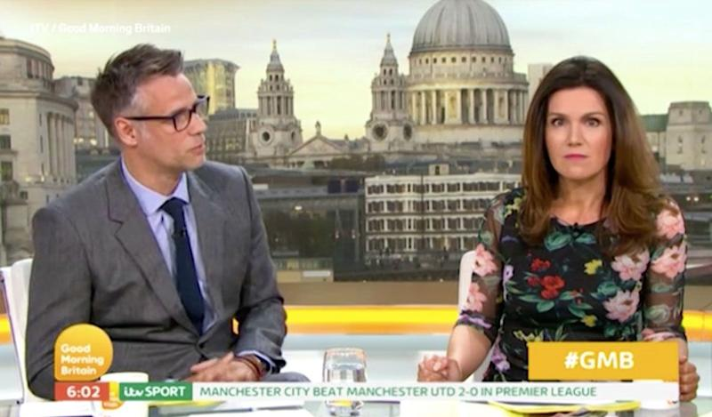 Photo credit: Good Morning Britain - ITV