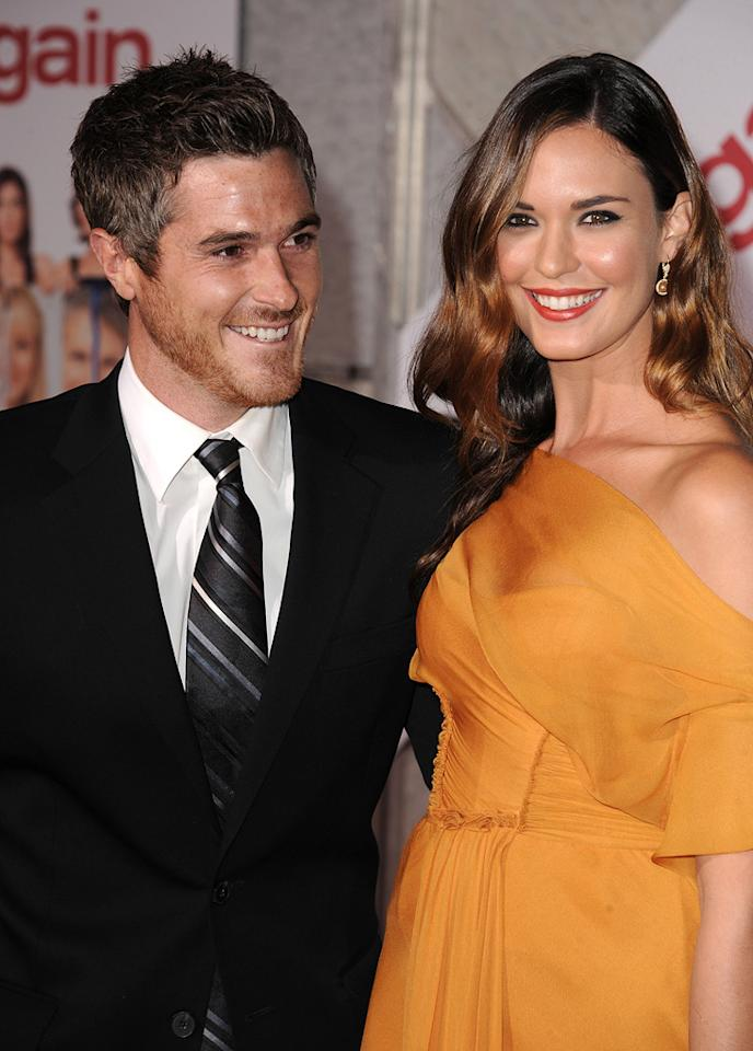 """<a href=""""http://movies.yahoo.com/movie/contributor/1808685168"""">Dave Annable</a> and <a href=""""http://movies.yahoo.com/movie/contributor/1808913920"""">Odette Yustman</a> attend the Los Angeles premiere of <a href=""""http://movies.yahoo.com/movie/1810111331/info"""">You Again</a> on September 22, 2010."""