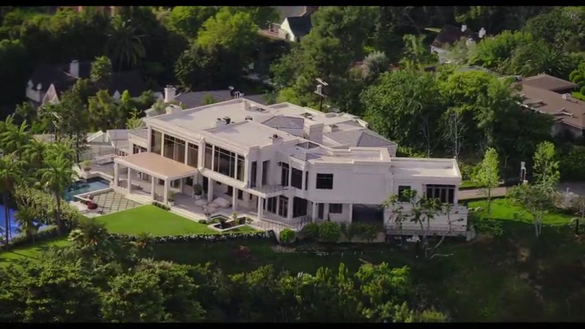 """LeBron James' """"Space Jam: A New Legacy"""" home, as seen in the first trailer."""