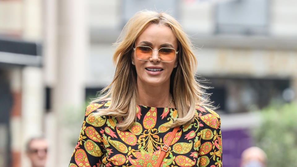 Amanda Holden has revealed she was once told to steal food on a holiday with her mother. (Brett Cove/SOPA Images/LightRocket via Getty Images)