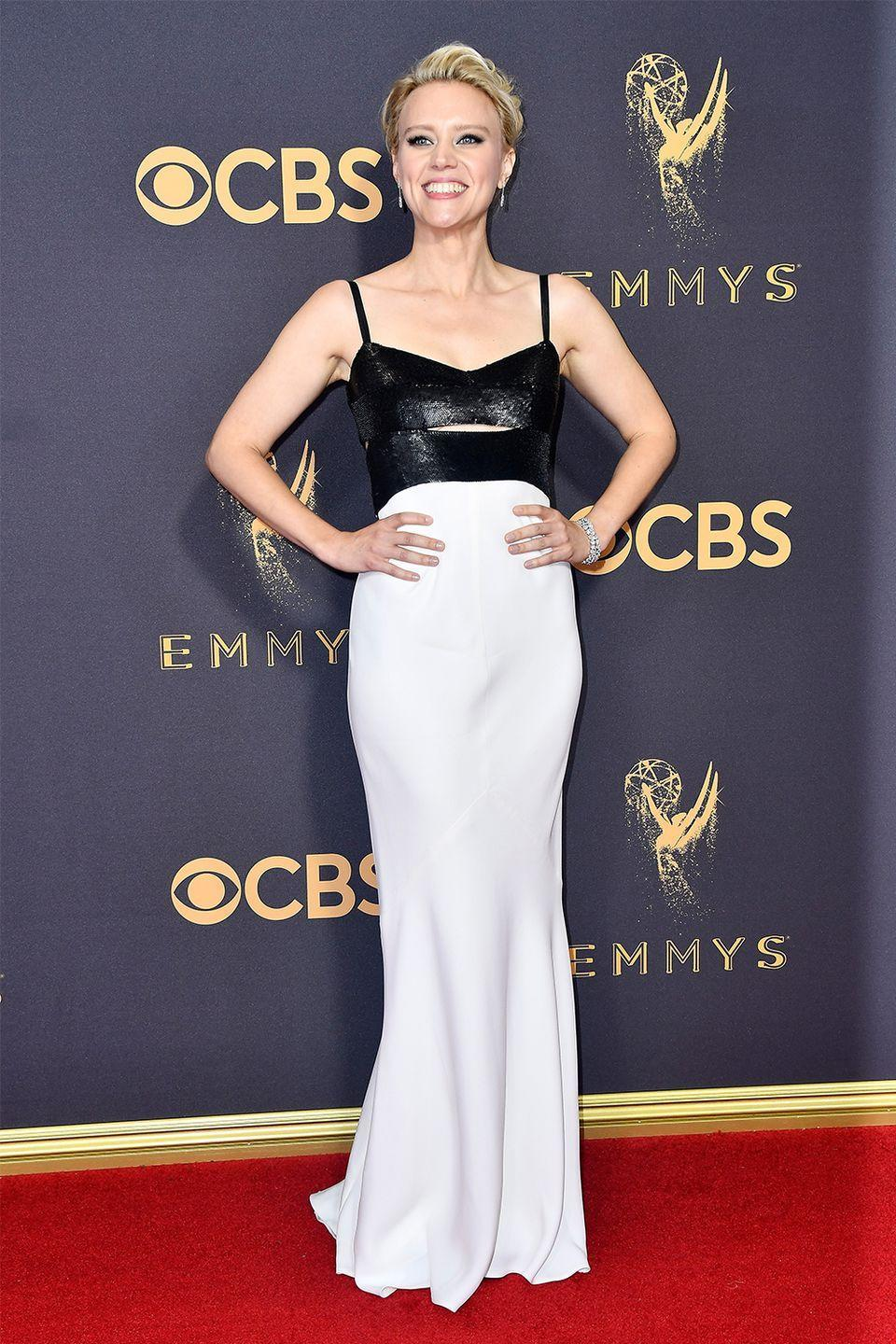 <p>Awards-show winner. Literally. With the dress, and the updo, and the makeup, and the actual award for best supporting actress.</p>