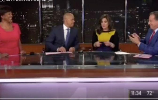She was delivering the breaking news as per usual for NBC on Tuesday night, when reporter Natalie Pasquarella discovered it was time to deliver something else as her water broke. Source: NBC