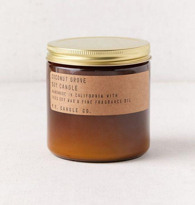 P.F. Candle Co. Amber Jar 12 oz. Soy Candle