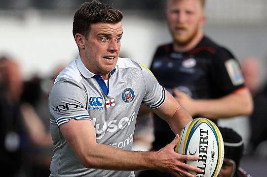 Tiger in waiting: George Ford is leaving Bath after three seasons at The Rec in the summer and heading back to Leicester: Getty Images