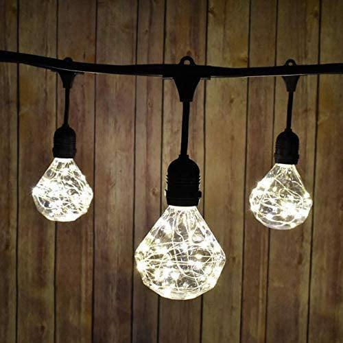 <p>This <span>SITOS Diamond Light Bulb</span> ($15) is an LED shatterproof light bulb that will add a whimsical touch to your decor. </p>