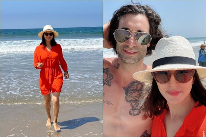 In Pics: Sunny Leone's Beach Outing With Husband Daniel Weber, Kids Will Leave You Envious