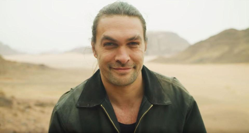 <p>Momoa shaved in order to draw attention to wasteful single-use plastics. Don't worry. It grows back.</p>