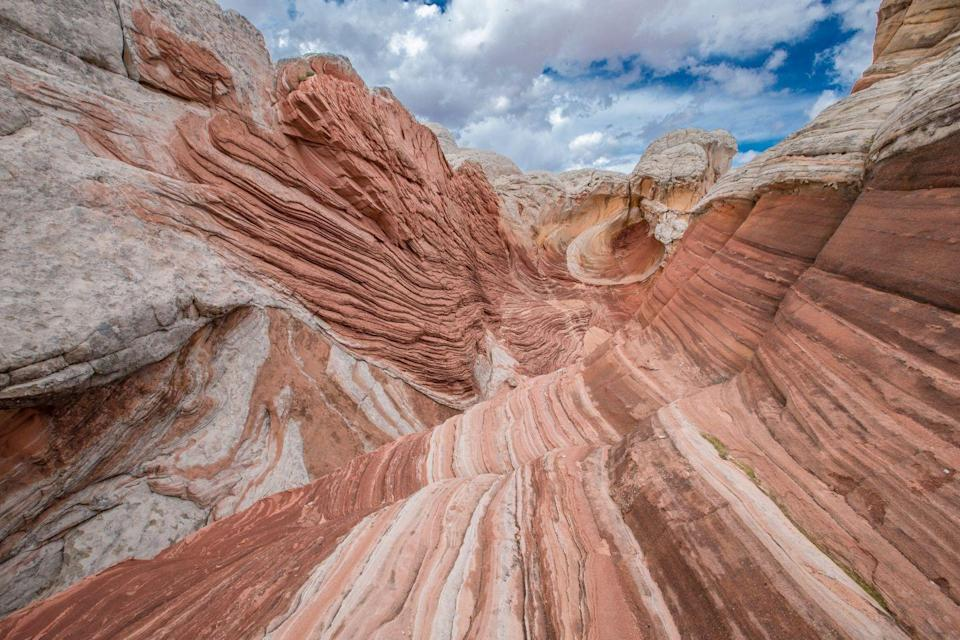 "<p><strong>Where: </strong><a href=""https://go.redirectingat.com?id=74968X1596630&url=https%3A%2F%2Fwww.tripadvisor.com%2FTourism-g143012-Badlands_National_Park_South_Dakota-Vacations.html&sref=https%3A%2F%2Fwww.prevention.com%2Flife%2Fg26815809%2Fmost-beautiful-places-in-america%2F"" rel=""nofollow noopener"" target=""_blank"" data-ylk=""slk:Badlands National Park, South Dakota"" class=""link rapid-noclick-resp"">Badlands National Park, South Dakota</a><strong><br></strong><strong><br>Why We Love It: </strong>The word ""badlands"" is probably not the first thing you think of when you're imagining a beautiful place, but this spot is gorgeous. Not only are the rock formations incredible, but they also possess ""one of the world's richest fossil beds,"" according to the <a href=""https://www.nps.gov/badl/index.htm"" rel=""nofollow noopener"" target=""_blank"" data-ylk=""slk:U.S. National Park Service website"" class=""link rapid-noclick-resp"">U.S. National Park Service website</a>. </p>"