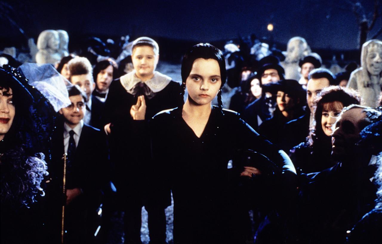 Who says you can only enjoy the Addams Family during Halloween? The film's sequel — <em>Addams Family Values</em> — follows Gomez and Morticia as they welcome a baby boy into the family. But the new nanny they hire does not have the best intensions. Madness ensues, of course, as the family toils with the drama of the new baby, the dangerous nanny, and Wednesday's Thanksgiving play at camp.