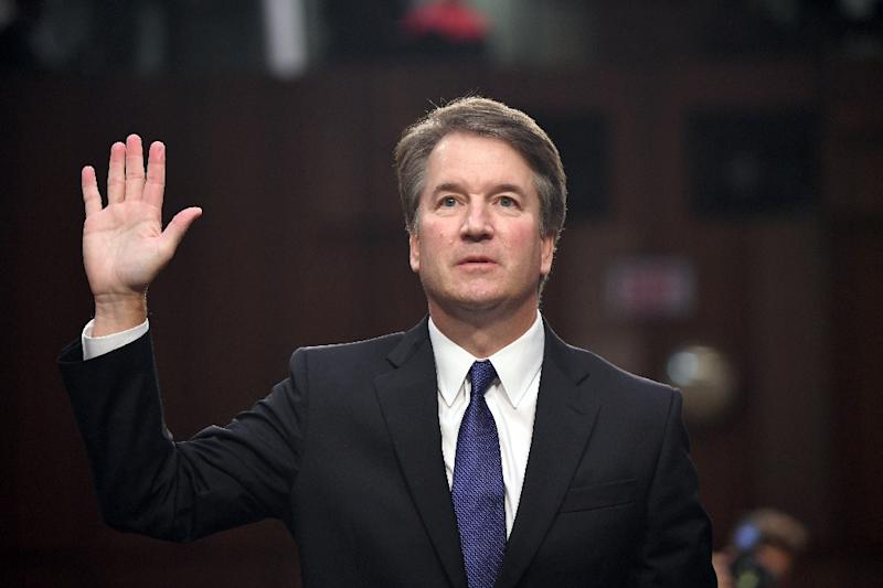 Trump Supreme Court nominee Brett Kavanaugh has denied sexually assaulting a women while they were in high school in the 1980s