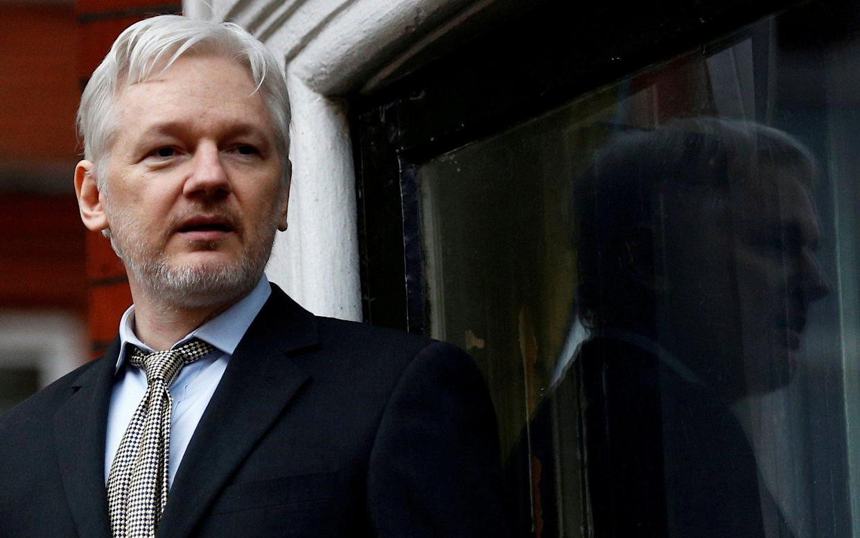 Julian Assange has been living in Ecuador's London embassy for five-and-a-half years - REUTERS