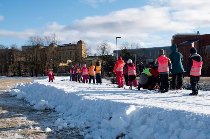 Skiing enthusiasts of all ages have taken advantage of the city snow trails