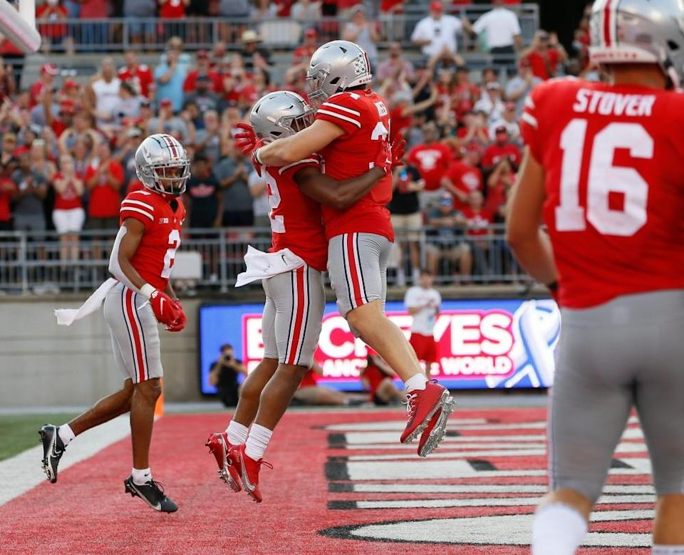 """Ohio State football names ten """"Champions"""" after the win against Tulsa"""