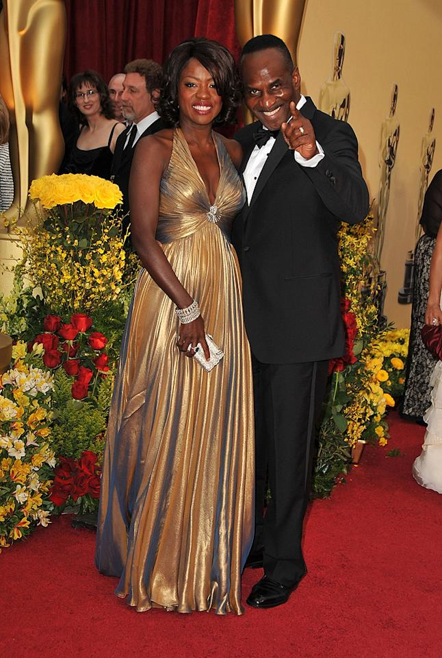 Viola Davis at the 81st Annual Academy Awards - Feb. 22, 2009