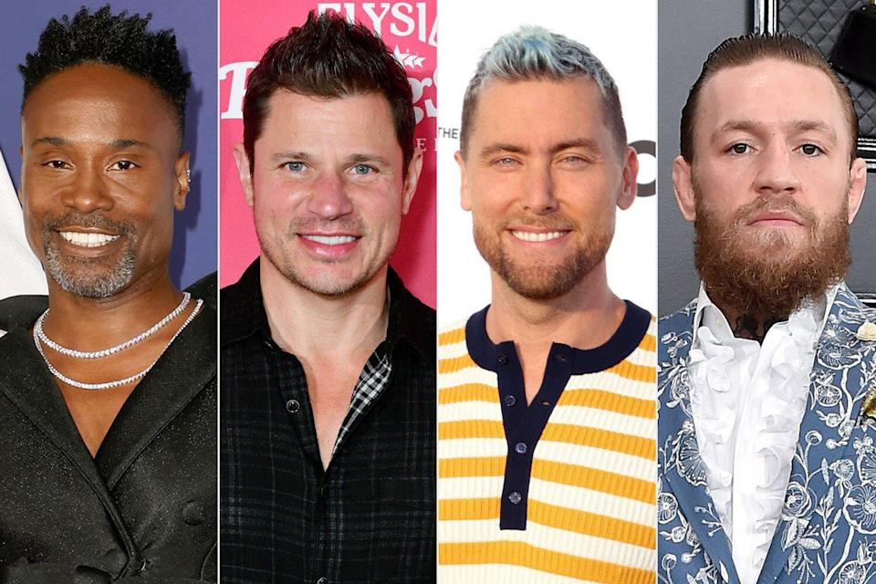 Billy Porter, Conor McGregor, Lance Bass and Nick Lachey