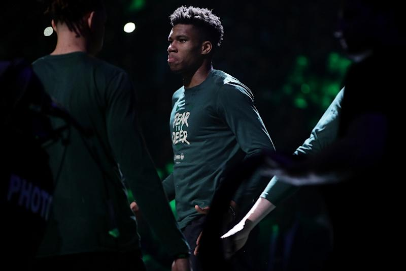 Milwaukee Bucks star Giannis Antetokounmpo is among the three finalists for the NBA Most Valuable Player award, along with reigning MVP James Harden of Houston and Oklahoma City's Paul George