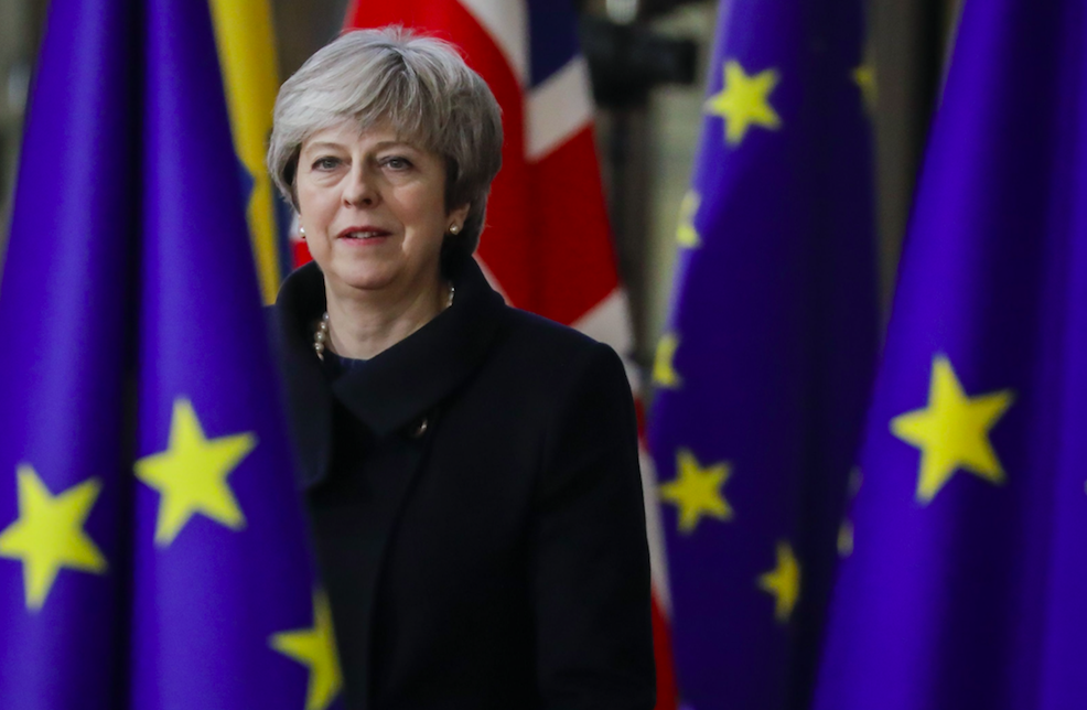 <em>Theresa May has insisted Brexit means Brexit but her Chequers proposals have faced fierce criticism from Leavers (Rex)</em>