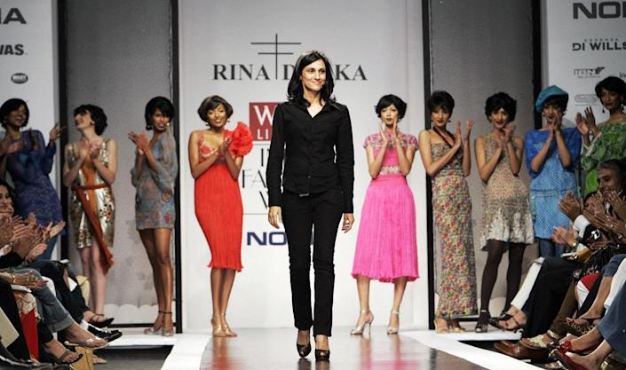 Rina Dhaka The Indian Fashion Designer Ruling The Global Runway