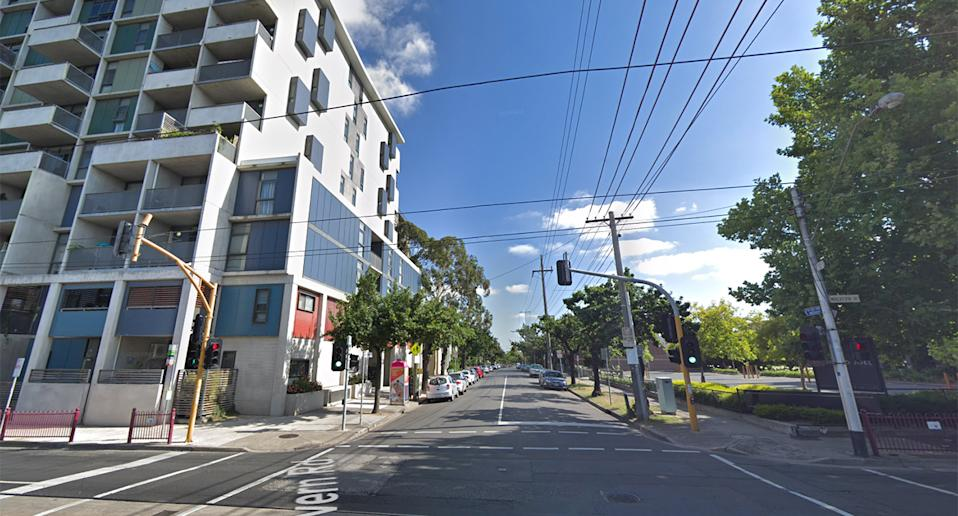 A Google Maps street view of Surrey Road in South Yarra, Melbourne.