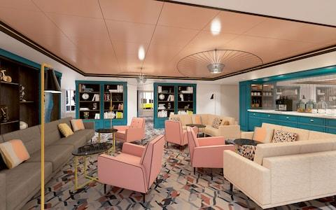 Spirit of Discovery library - Credit: SAGA GROUP LIMITED