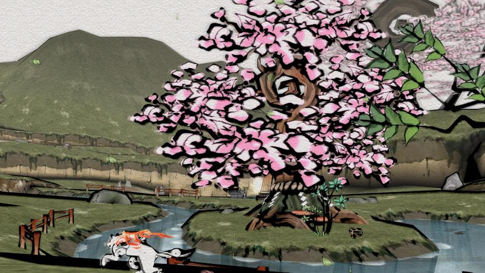The world of 'Okami' is as beautiful as ever on the Switch.