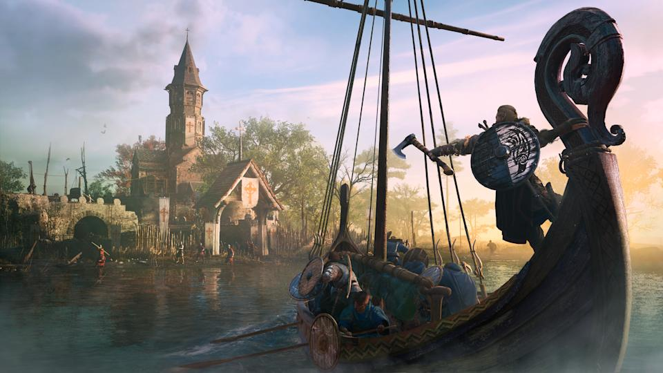 Your long boat is an essential part of your experience in 'Valhalla.' (Image: Ubisoft)