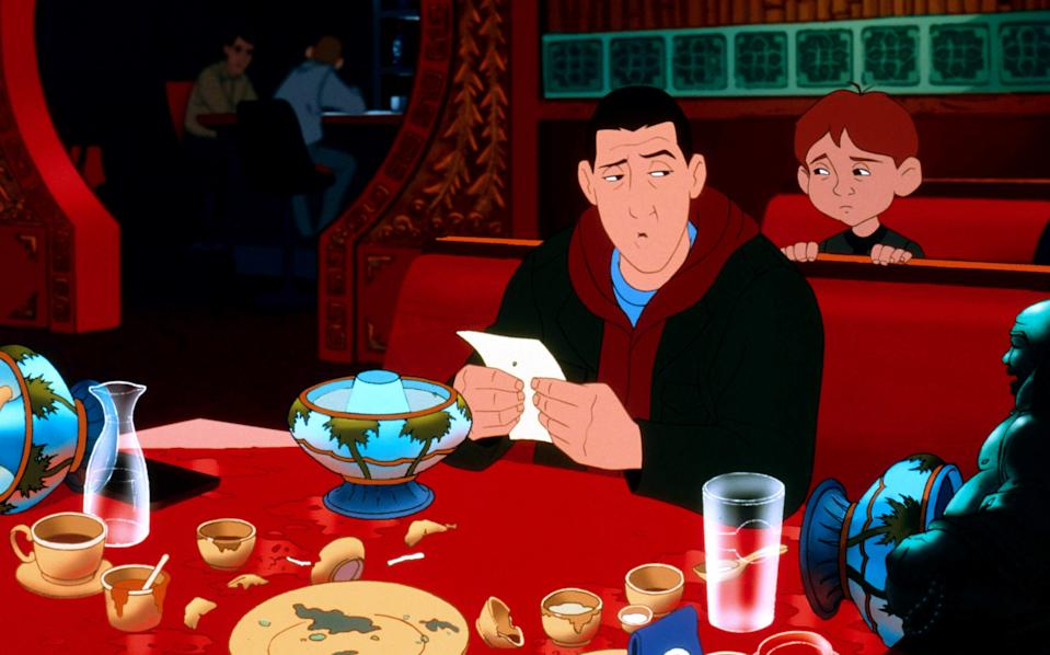 EIGHT CRAZY NIGHTS, Davey Stone, (voice: Adam Sandler), 2002, ©Columbia Pictures/courtesy Everett Collection