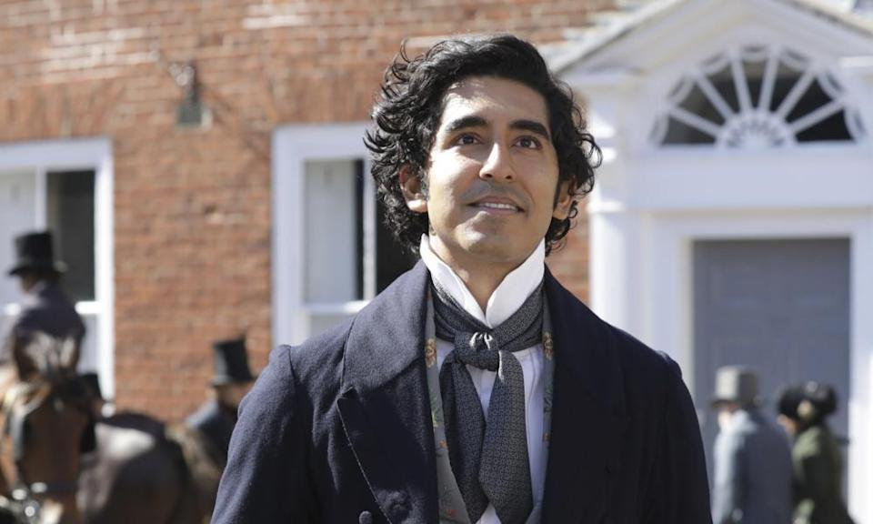 Winningly open face … Dev Patel in The Personal History of David Copperfield.