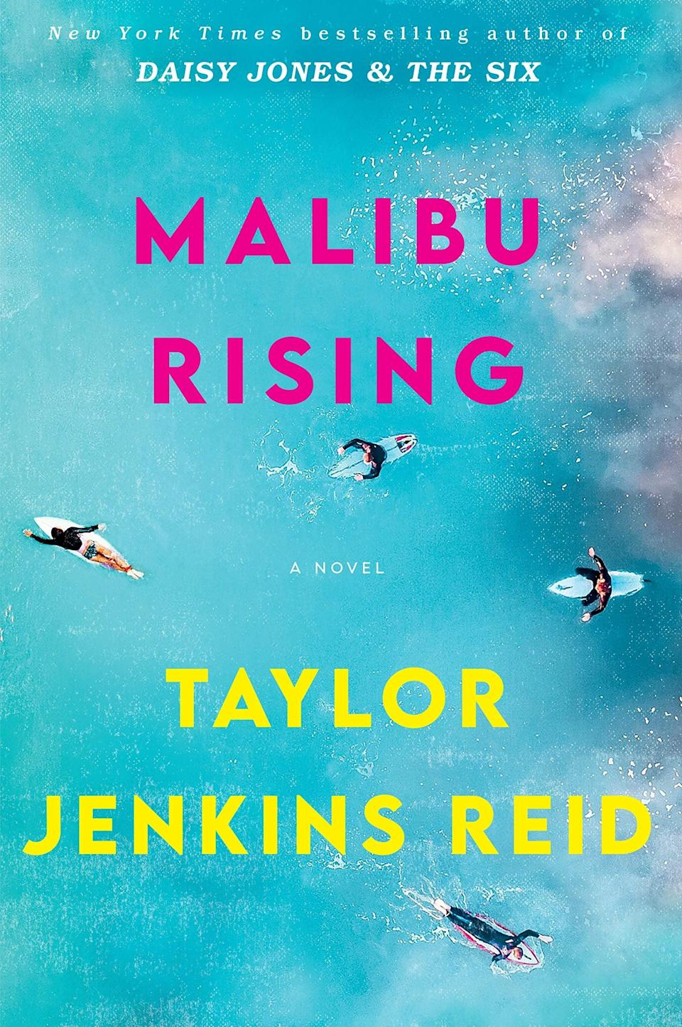 <p><strong>New York Times</strong> bestselling author Taylor Jenkins Reid's highly anticipated new novel, <span><strong>Malibu Rising</strong></span>, is hitting shelves just in time for the summer. Set during one fateful night in the 1980s, <strong>Malibu Rising</strong> chronicles an end-of-summer bash thrown by the wealthy Riva family and the ways in which it changes the course of each of the four Riva siblings' lives. </p> <p><em>Out May 25</em></p>