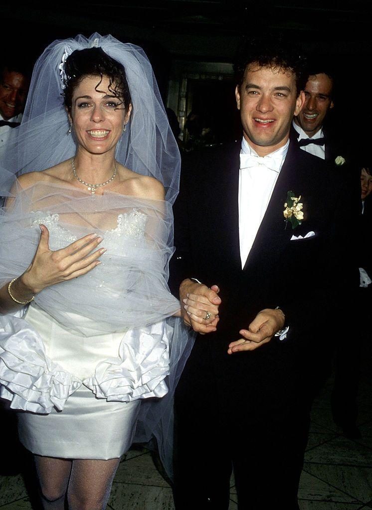 <p>Tom Hanks and Rita Wilson tied the knot in 1988—and they're still going strong 28 years later. </p>