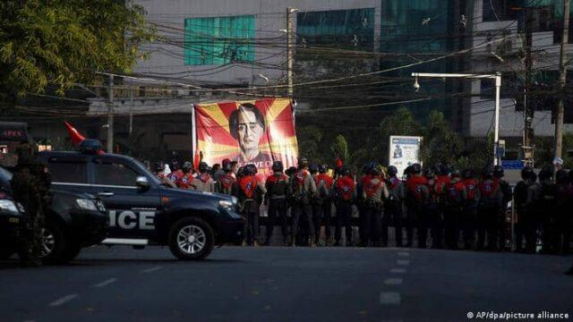 A judge in the capital Naypyitaw said on Monday that Aung San Suu Kyi, who was detained on February 1 by the military junta, would remain in detention until Wednesday