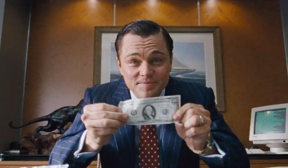 """Leonardo DiCaprio in """"The Wolf Of Wall Street"""". Photo: Handout"""