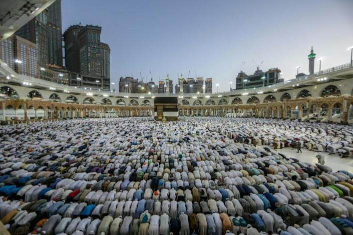 The hajj is one of the world's largest religious gatherings (AFP Photo/Abdel Ghani BASHIR)