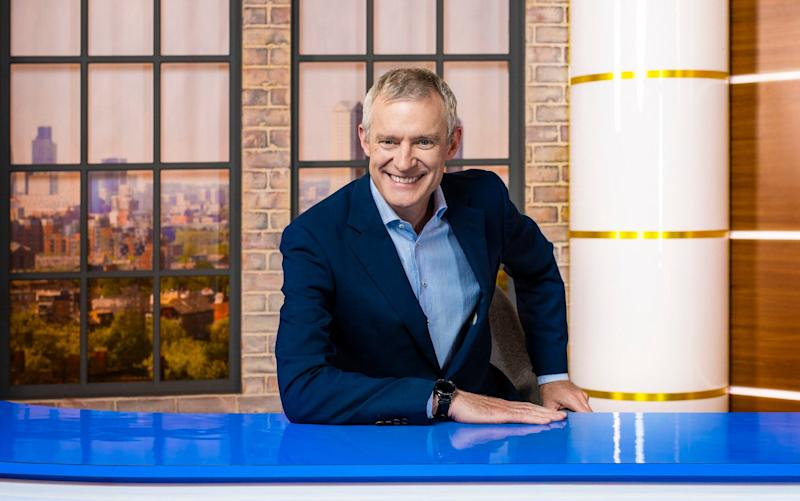 Jeremy Vine is among Rowe's signings, and says his boss understands the 'Red Wall' intuitively - PA/Channel 5