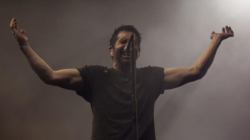 A real, non-machine Trent Reznor... or is it?
