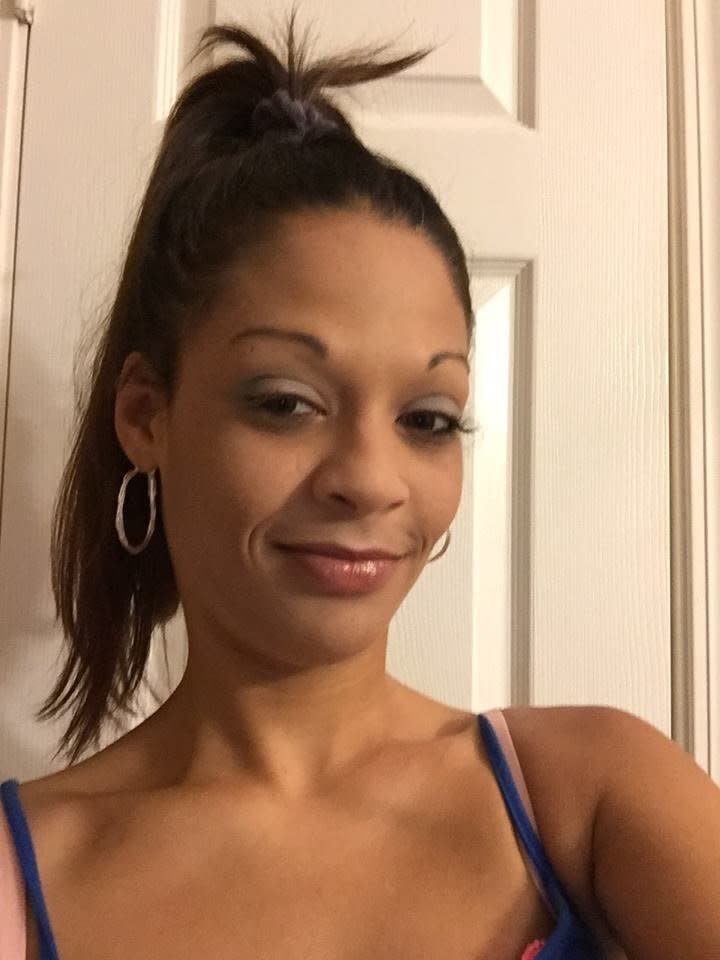 Megan Oxendine (pictured) was a friend of Rhonda Jones. (Facebook)