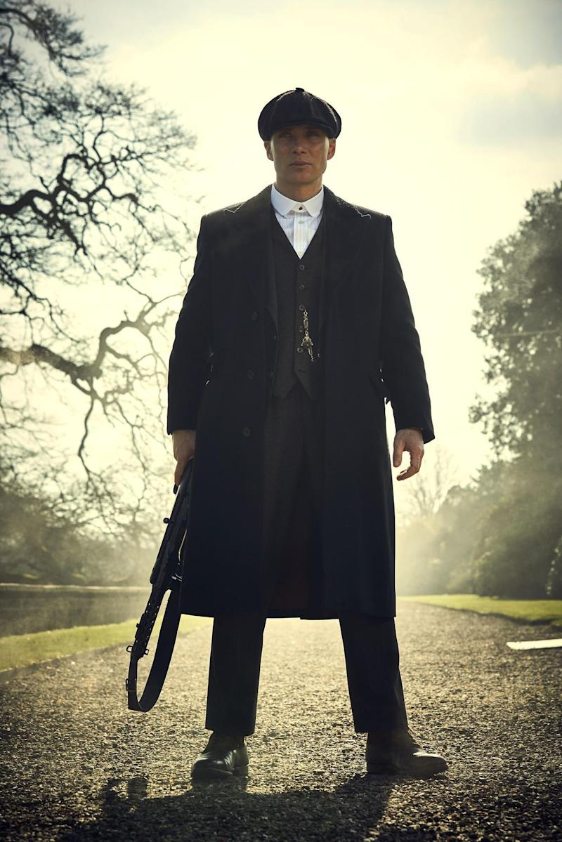 Popular: Cillian Murphy as Thomas Shelby in Peaky Blinder (BBC/Caryn Mandabach/Robert Viglasky)