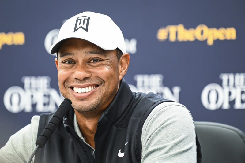 british open  tiger woods is stretching out his career