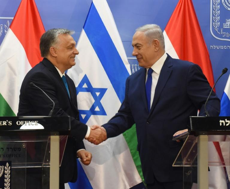 Hungary's hard-line PM Orban visits Israel amid criticism