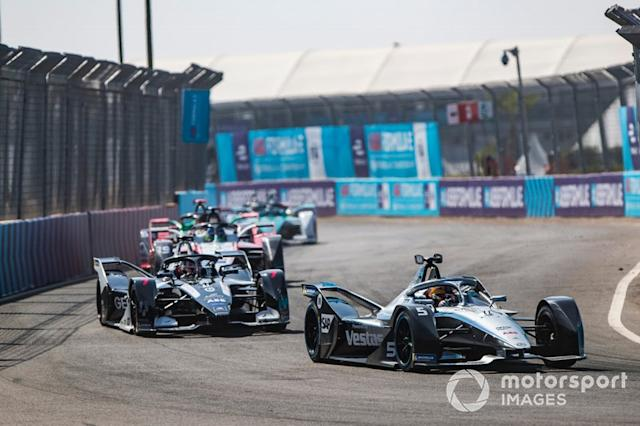 "Stoffel Vandoorne, Mercedes Benz EQ, EQ Silver Arrow 01 Nico Müller, Dragon Racing, Penske EV-4, Felipe Massa, Venturi, EQ Silver Arrow 01 <span class=""copyright"">Sam Bloxham / Motorsport Images</span>"