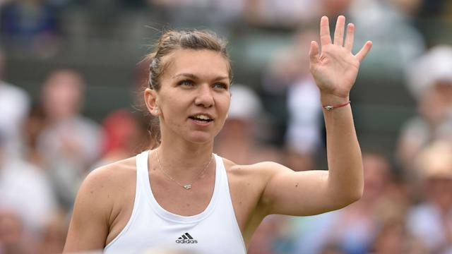 Simona Halep, who is competing in her hometown WTA Tour event in Bucharest, Romania this week, announced Friday she is out of the Olympics.