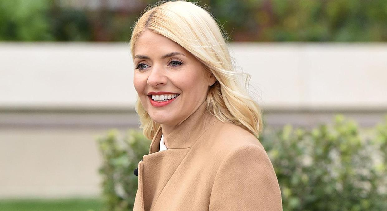 Holly Willoughby showcases M&S' new dress range and insists it is the