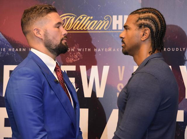 Bellew and Haye square off once more