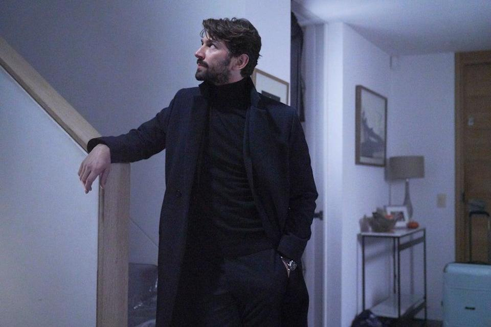Michiel Huisman as Olivier (TWO BROTHERS PICTURES FOR ITV)