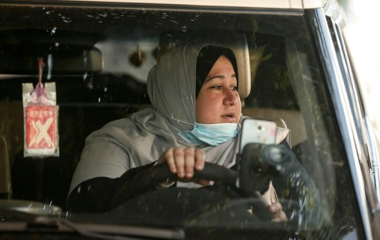 Palestinian mother-of-five Nayla Abu Jubbah says her friend thought she was crazy when she told her she planned to become the first woman taxi driver in the deeply conservative Gaza Strip